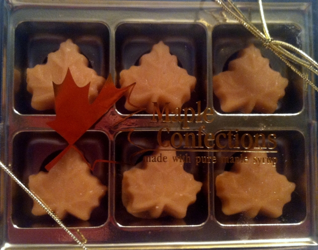 6 Piece Maple Candy